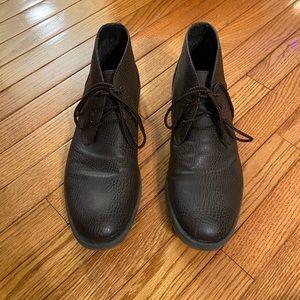 Robert Wayne Brown Lace Up Boots
